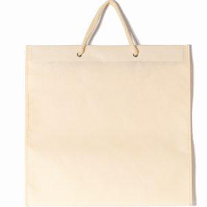 Bolsa de tela crema album 25x25 30x30